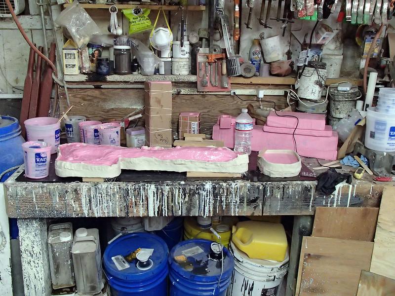 Molds for Lightning Gun Parts