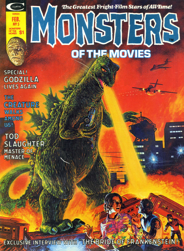 Bob Larkin - Monsters of the Movies #5 (Marvel, 1975)
