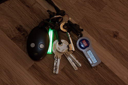 Rubytec Firefly Glowstick Keys