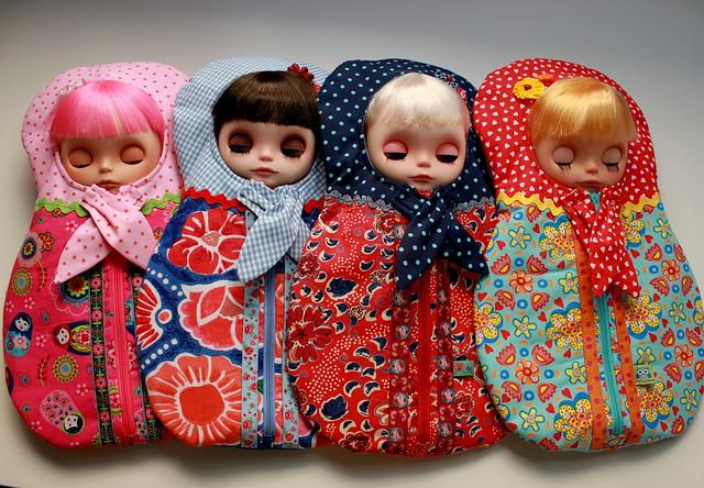 Dollily matryoshka bags