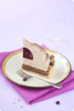 Chestnut Blackcurrant Entremet Cake