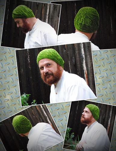 NURBS unisex hat Collage