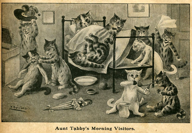 013-Louis Wain- via Ebay