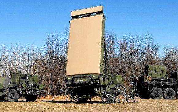 Мобильный радар G/ATOR