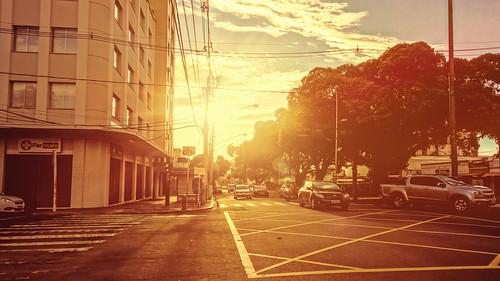 city sunset cidade brazil urban brasil golden grande quiet pôrdosol campo urbano