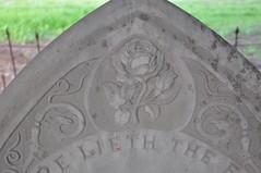 Slate Carving detail by John Richards Junior