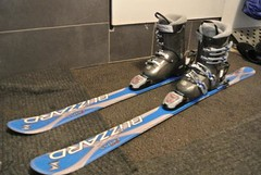 PRODÁM komplet: dětské lyže Blizzard RXX Cross dél - titulní fotka