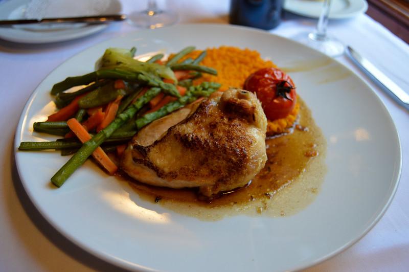 Lemon Sauce Chicken at Walt's An American Restaurant