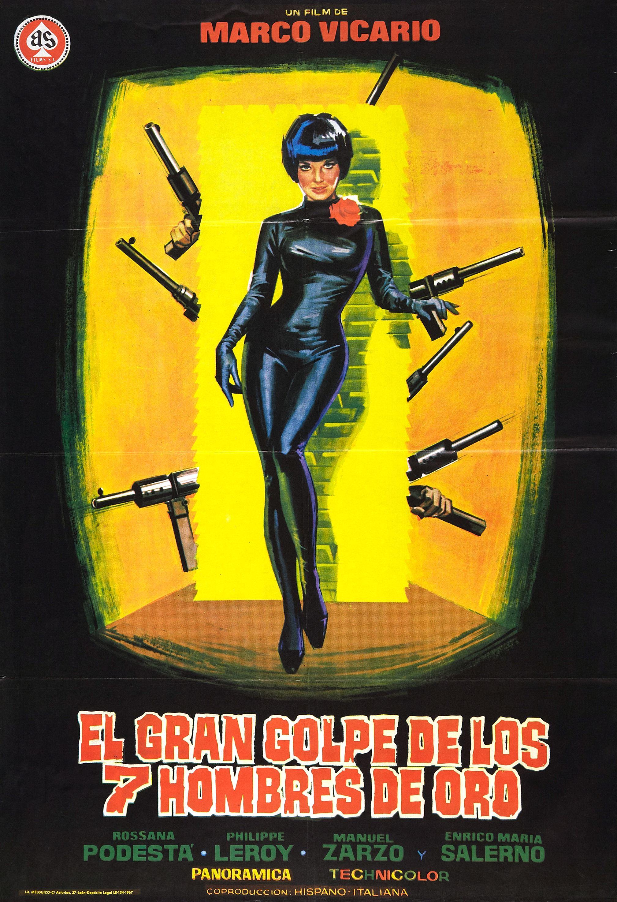Seven Golden Men Strike Again (1966)
