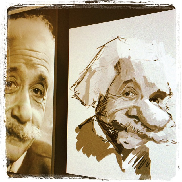 3/365 #einstein #digital #caricature