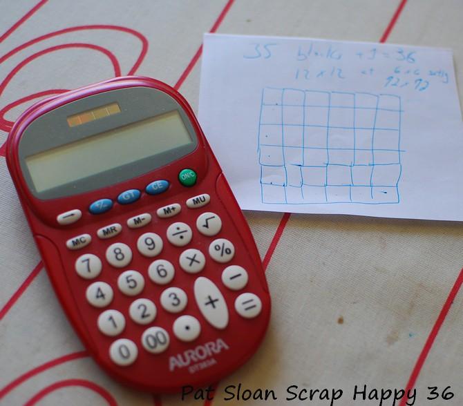 pat sloan Scrap Happy 36square 2