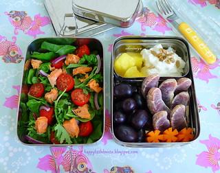 Salmon Salad EcoLunchBox Bento