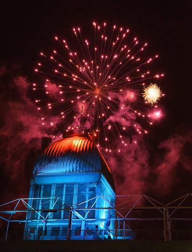 Montreal's Winter Firework Festival