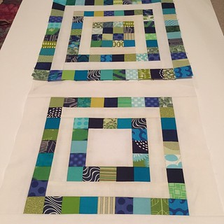All done. #dogoodstitches #dgscheercircle #cheercircle #charitysewing February's blocks for @seemaryquilt