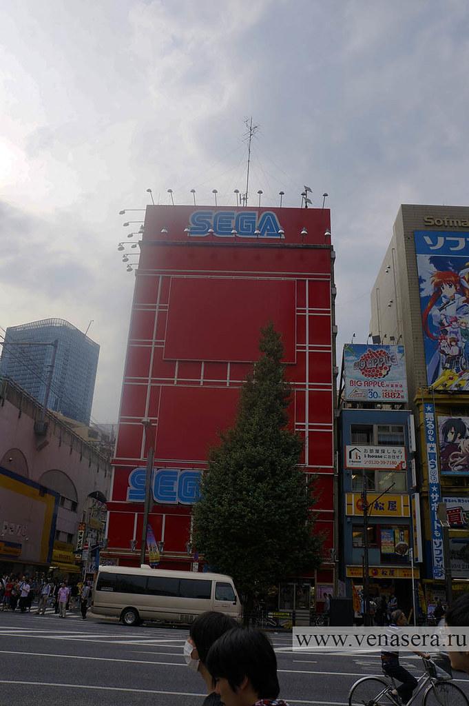 Район Акихабара, Токио, Япония.