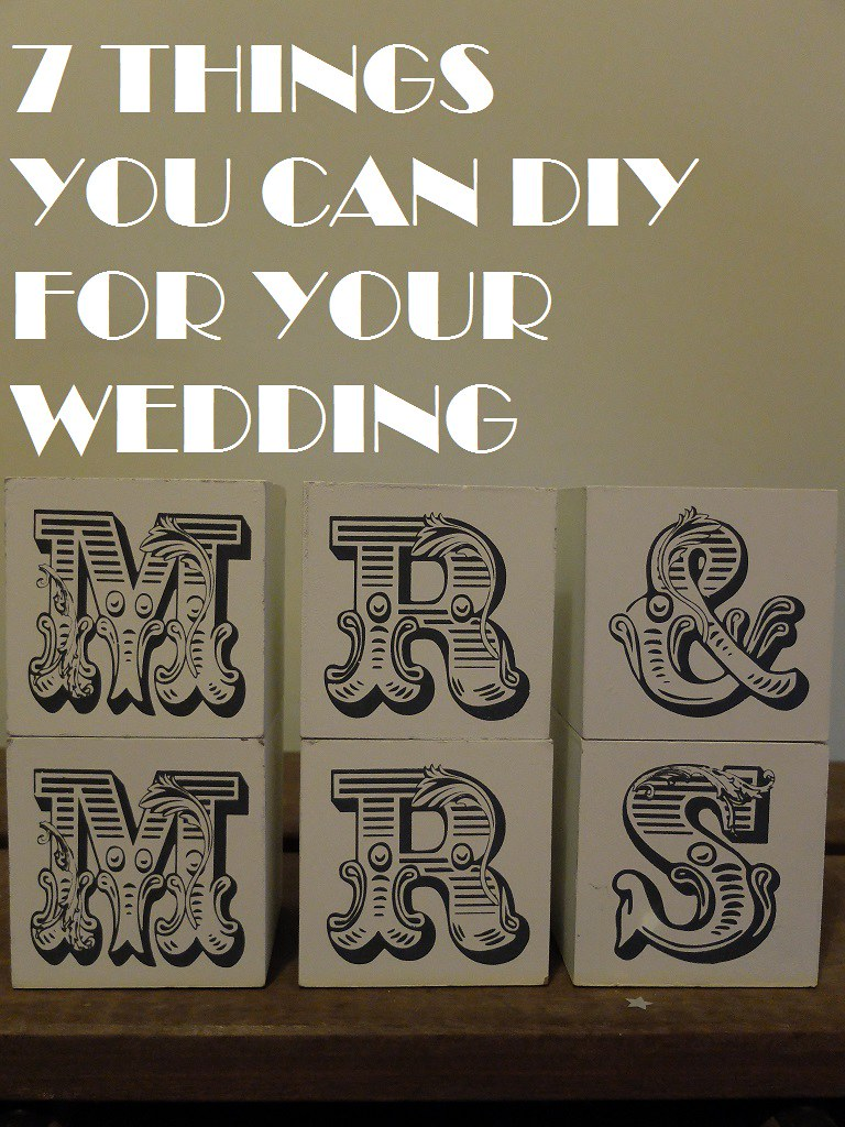 7 things you can DIY for your wedding