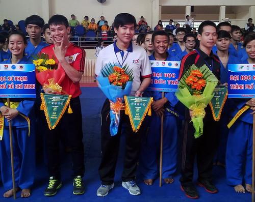 Hơn 200 võ sĩ tham dự giải Vovinam sinh viên TP HCM 2014