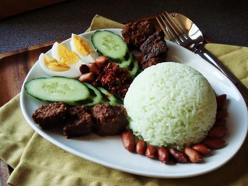 Nasi Lemak: Malaysian Rice Plate