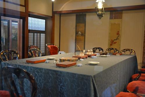日清講和記念館:談判桌