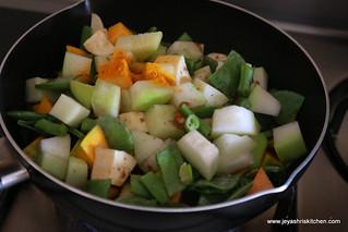 veggies+tamarindwater+salt