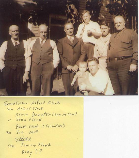 Header of Alfred Clark