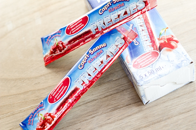 Degustabox, Capri Sonne Freezies