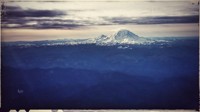Washington State shortly after takeoff