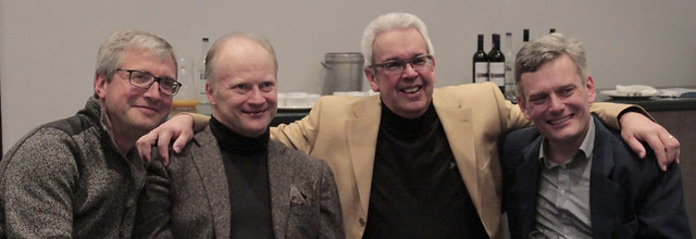 Gianandrea Noseda and The Three General Managers of BBC Philharmonic