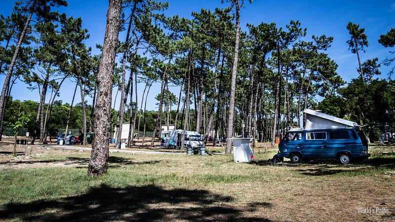 campeggio Orbitur a Torreira
