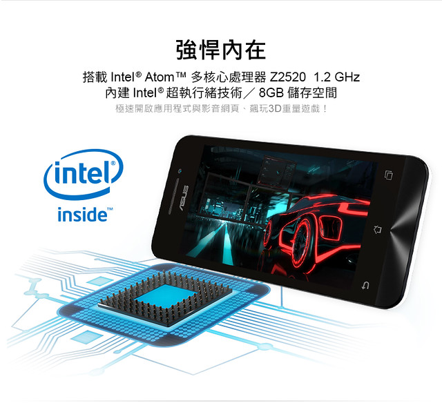 Asus giới thiệu Zenfone C và sạc pin di động ZenPower 9600 - 62749