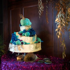 Decorated Cake at A Longwood Christmas 2014