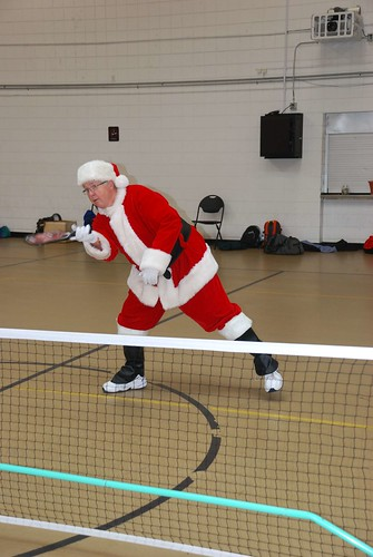 2014 Even Santa Plays Pickleball!