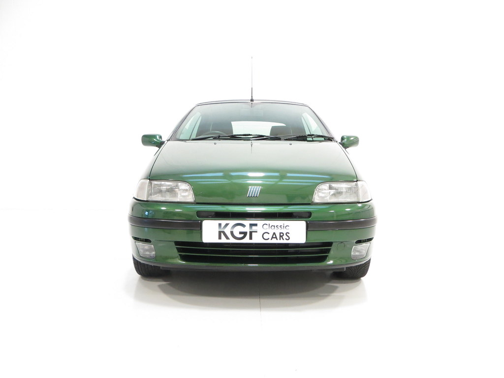 a fiat punto 90 elx cabrio with just 9 983 miles pe1 sold retro rides. Black Bedroom Furniture Sets. Home Design Ideas