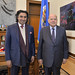 Secretary General Receives President of the International Center for Sport Security