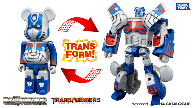 Be@rBrick x Transformers - Optimus Prime (Age of Extinction Ver.)