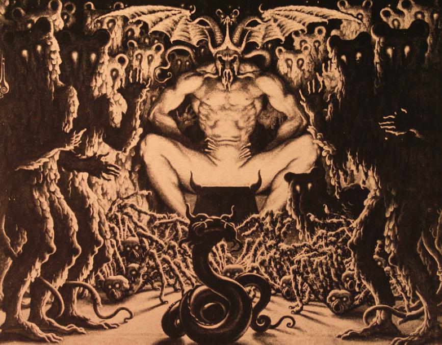 Nikolai Kalmakov - Satan, 1923