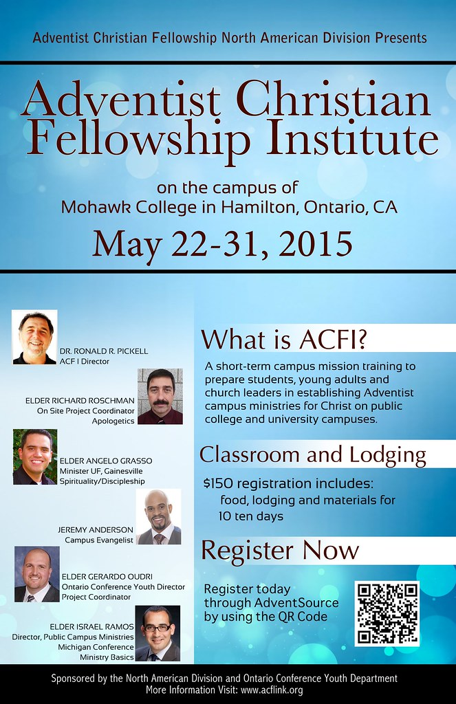 ADVENTIST CHRISTIAN FELLOWSHIP INSTITUTE