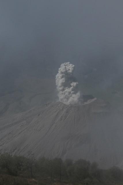 Volcan Santiaguito.  Guatemala.