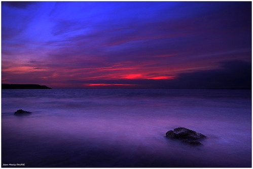 sunset sea sky sun seascape beach nature canon soleil brittany sigma bretagne breizh ciel paysage jmfaure crozgat29