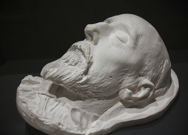 Plaster Death Mask of G. F. Watts