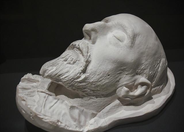 Plaster Death Mask of G. F. Watts