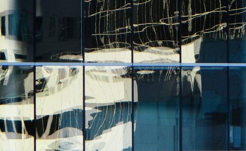 Highrise Reflection Abstract