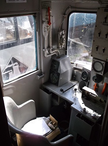 HST Back cab interior
