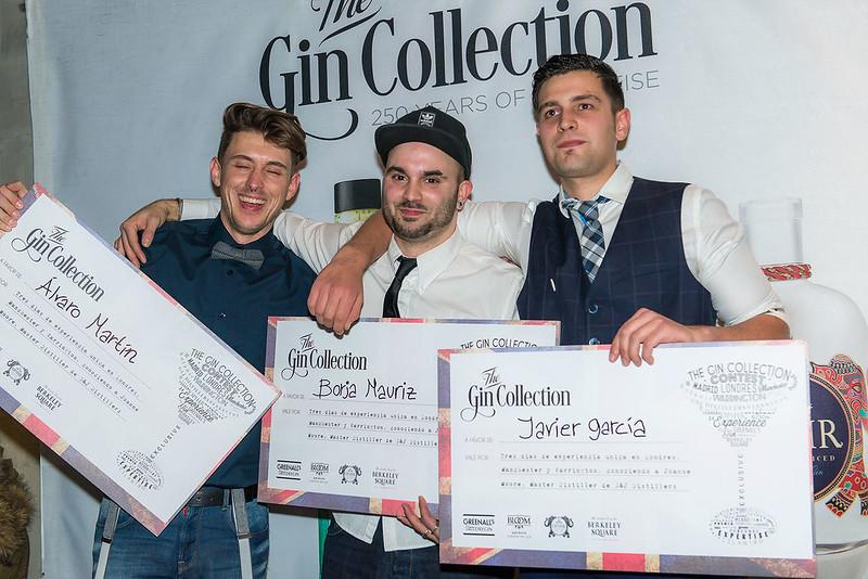 """Ganadores """"The Gin Collection Contest"""""""