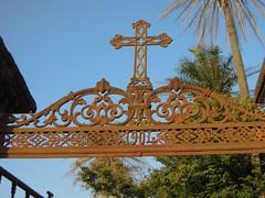 Eingangstor zu christlichem Friedhof (1904)