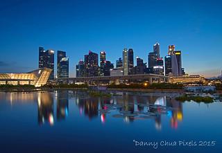Singapore CBD Blue