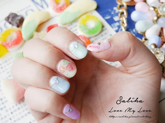 馬卡龍光療指甲 (13)