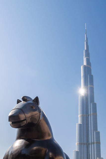 The highest building on earth, Burj al Khalifa, Dubai