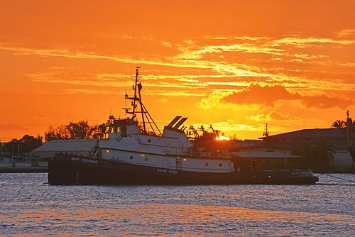 Mary Catherine sunset