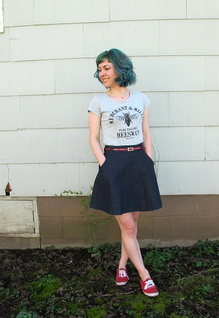 Denim Hollyburn skirt